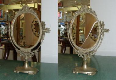 鏡の割れ替えサービス