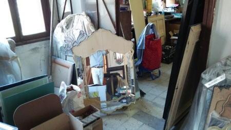 とあるベネチアングラスの工房