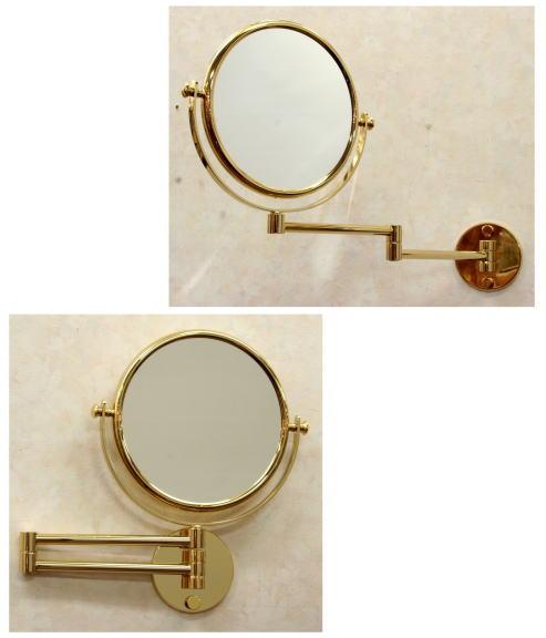 スペイン製拡大鏡 アームミラーWi141ゴールド2倍率